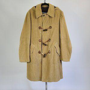 Croydon 1970's Corduroy Hooded Jacket  Size M